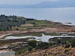 Waterrijk gebied bij Kalloni