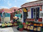 De groenten- en fruitwinkel van Skala Eressos