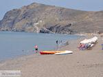 Het grote strand van Skala Eressos foto 1