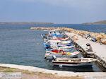 Bootjes aan vissershaven van Sigri