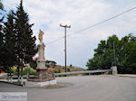 Monument in Antissa op de route Sigri-Anaxos