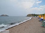 Een bewolkte dag aan het strand van Anaxos foto 1