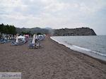 Een bewolkte dag aan het strand van Anaxos foto 3