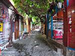 De smalle straatjes en steegjes van Molyvos foto 1
