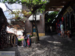 De smalle straatjes en steegjes van Molyvos foto 4