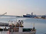 Boot Theofilos in de haven van Mytilini