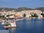 Aan de mooie haven van Mytilini